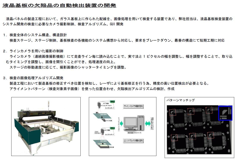 液晶パネル検査装置